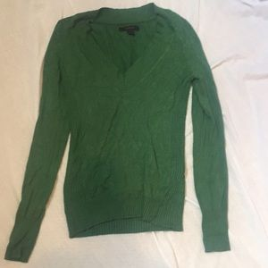 Express Green Sweater